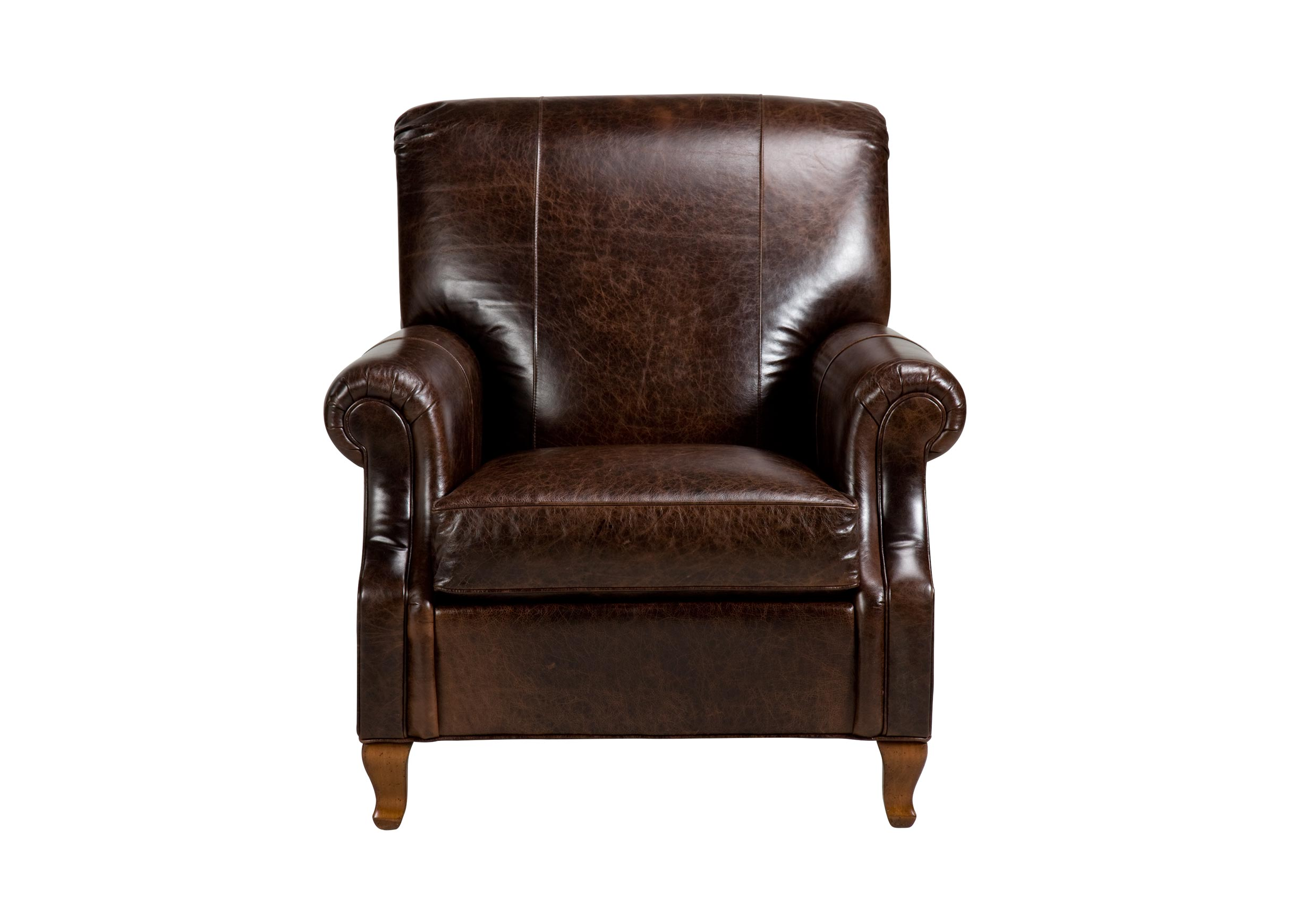 Avery Leather Chair  Chairs  Chaises