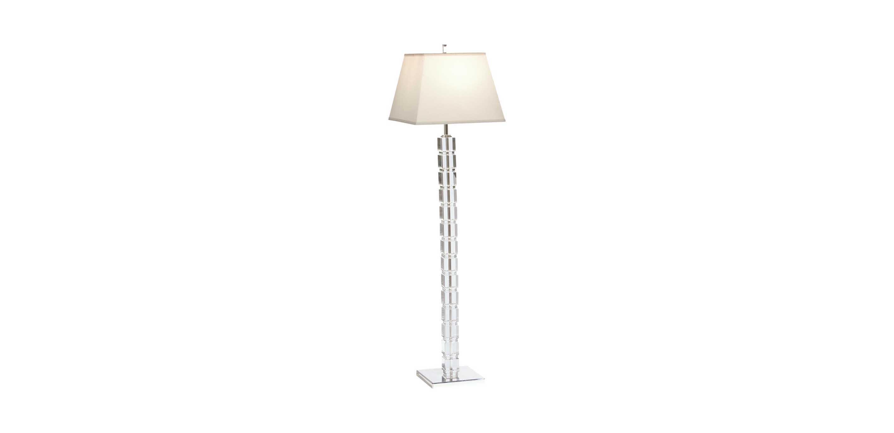 Crystal Blocks Floor Lamp  FLOOR LAMPS  Ethan Allen