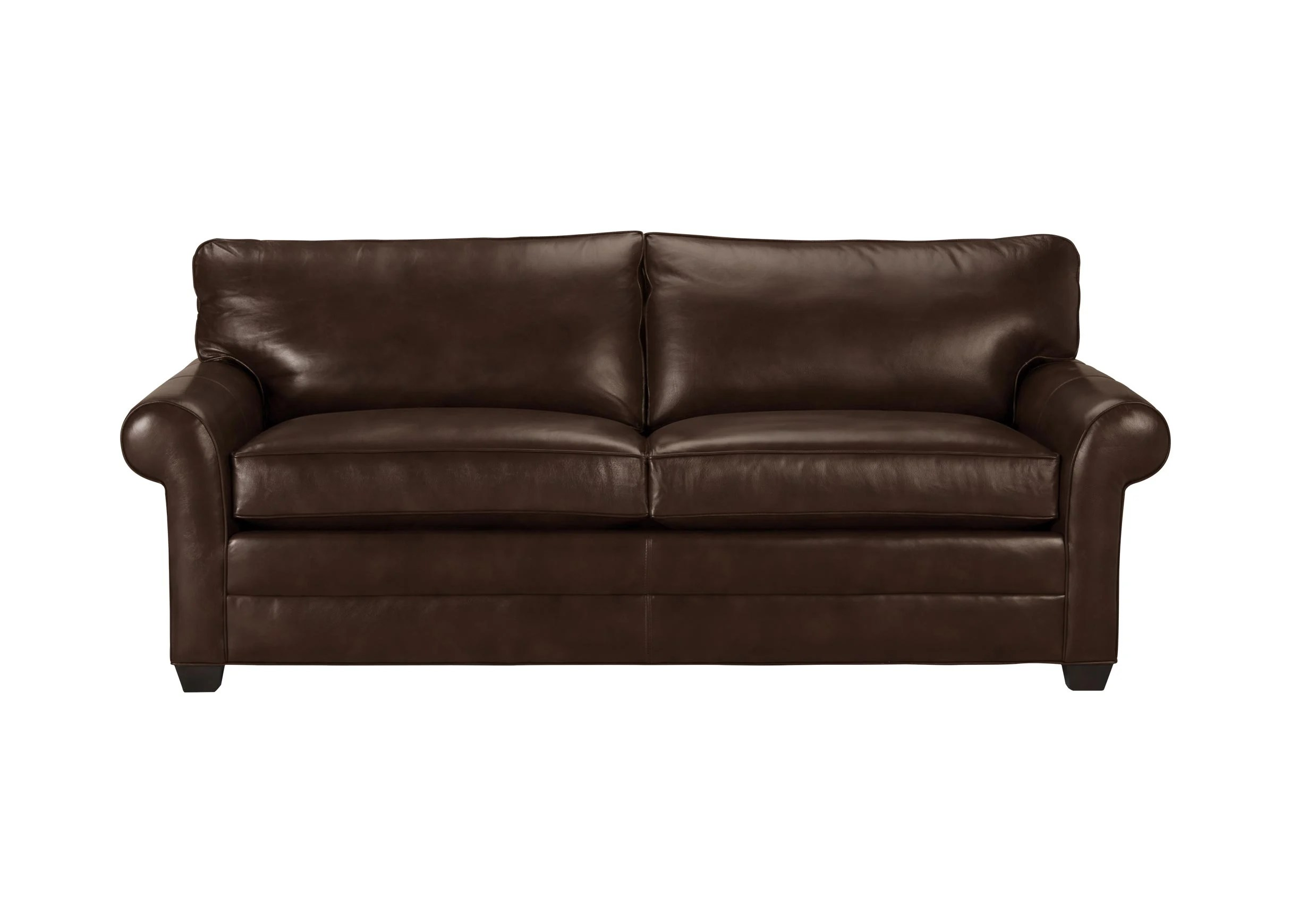 roll arm sofa canada milano leather sectional bennett quick ship sofas