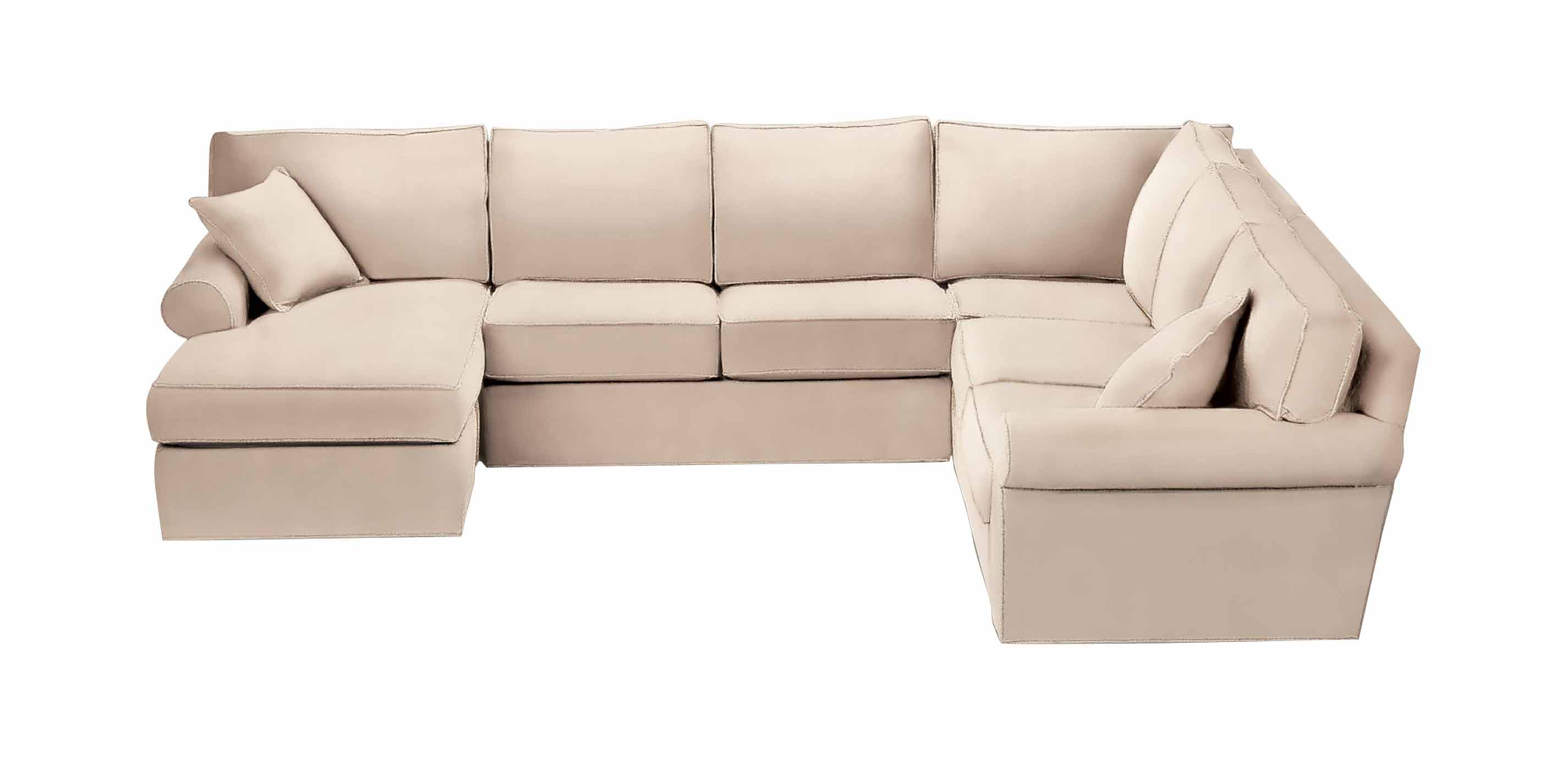roll arm sofa canada striped sofas living room furniture retreat roll-arm sectional with chaise | sectionals
