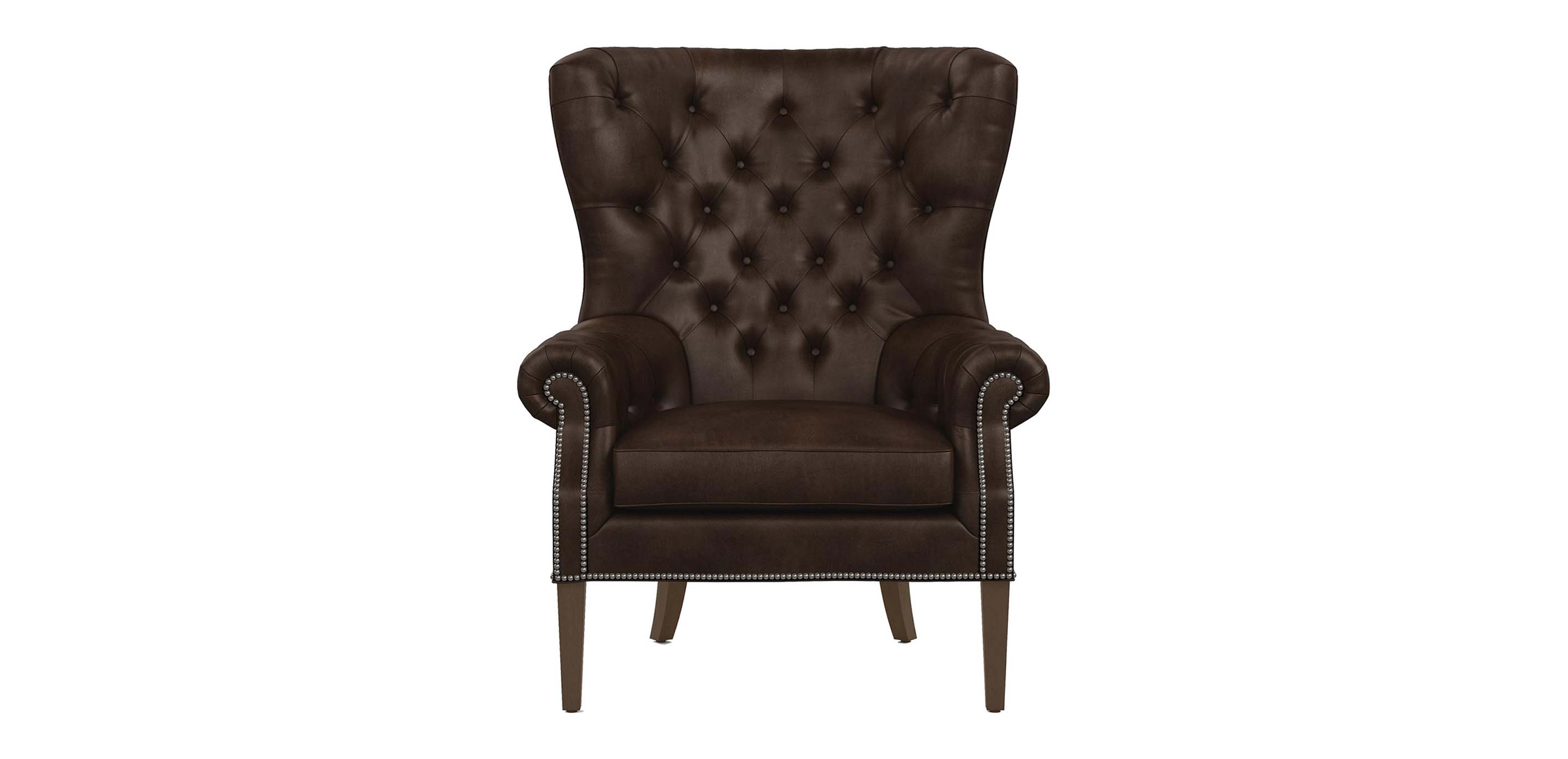 Rhodes Leather Chair  Chairs  Chaises  Ethan Allen