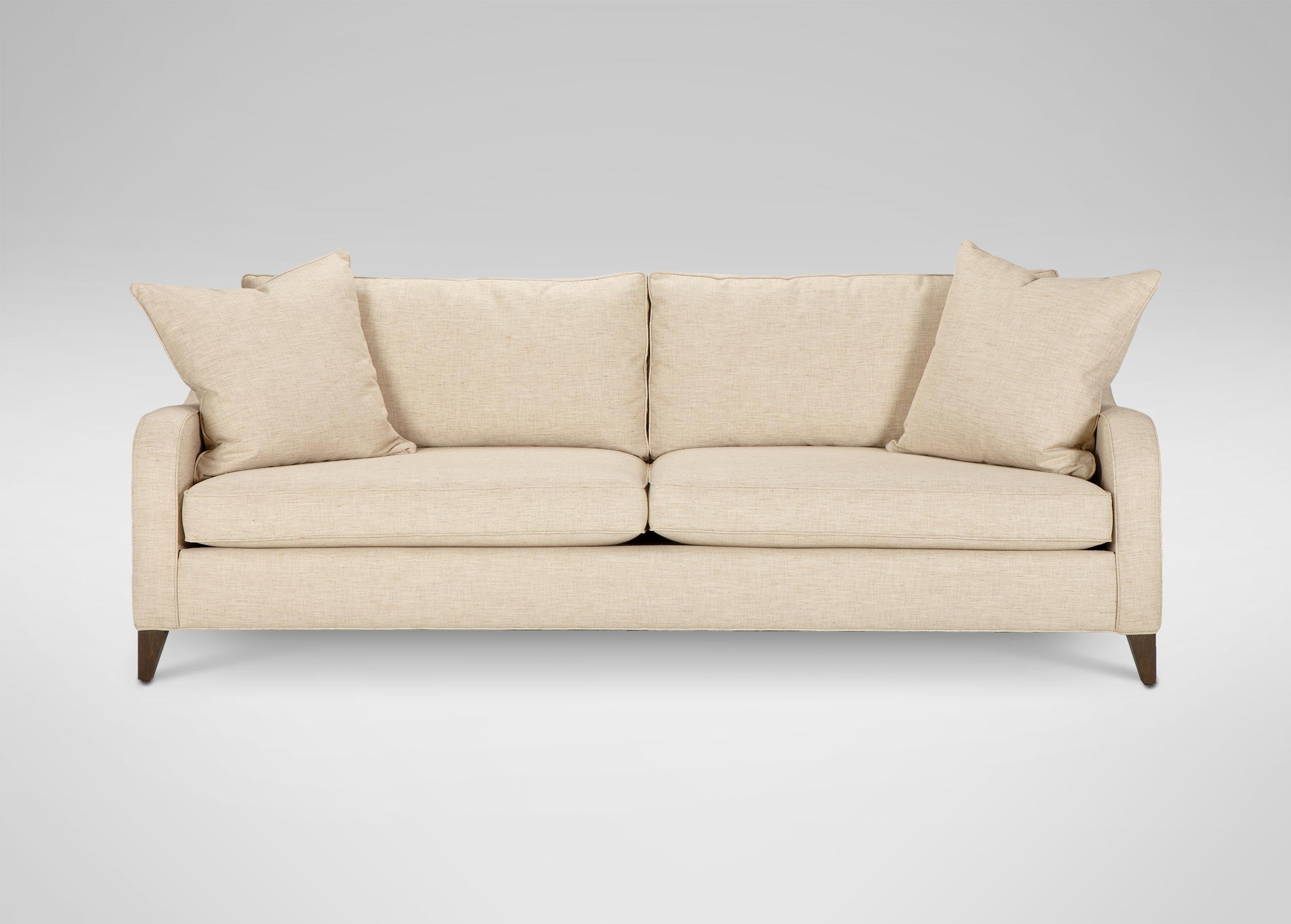 ethan allen slipcover sofa reviews 3 cushion bed hudson