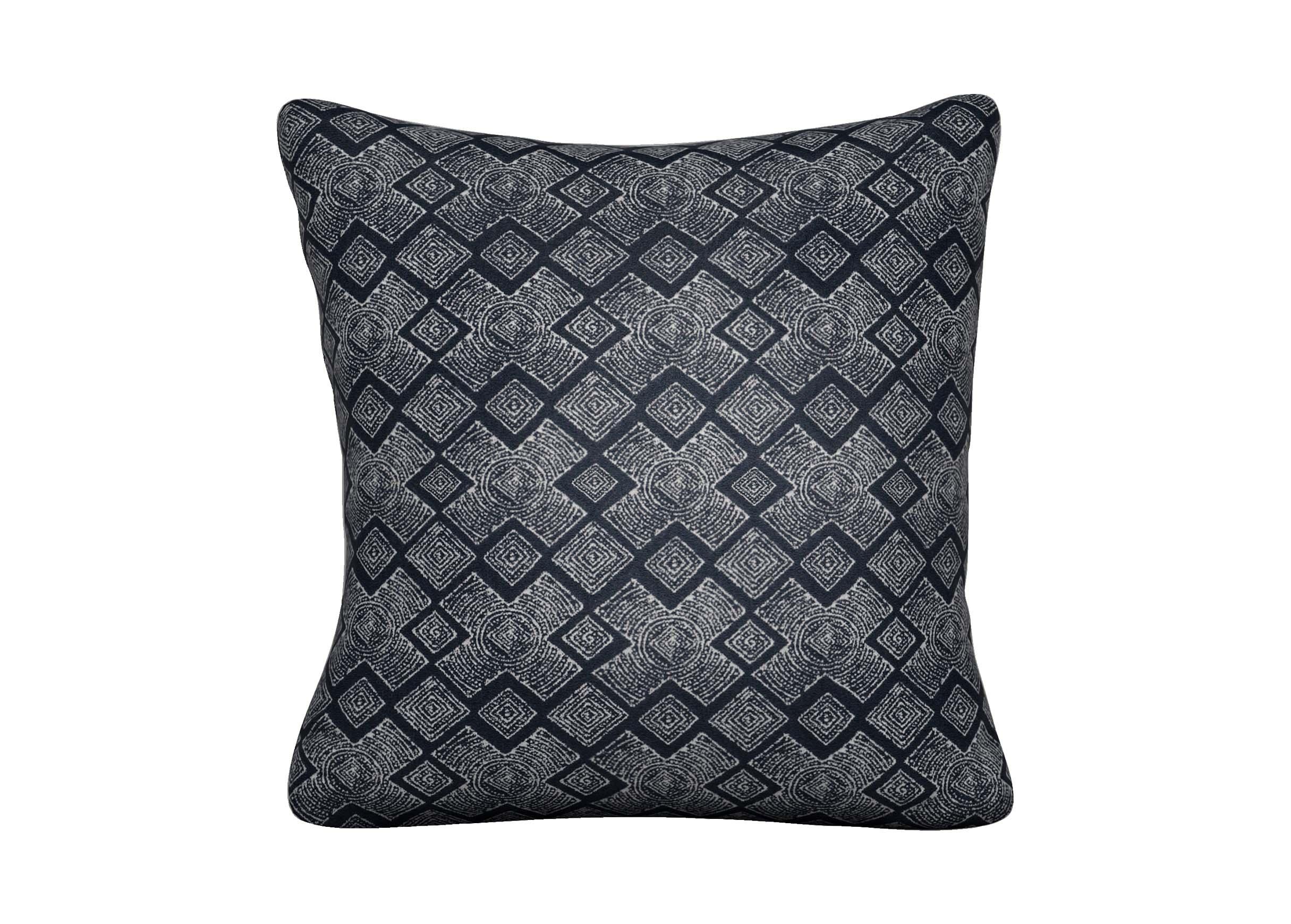 Distin Navy Outdoor Pillow  Outdoor Pillows  Ethan Allen