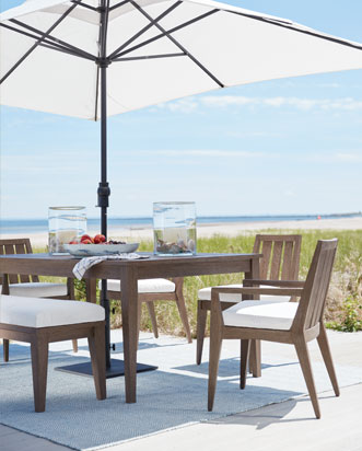 outdoor table and chairs wood bedroom chair lemon furniture sets ethan allen dining