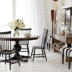 Bistro Chairs Dining Room Navy Tufted Chair Beachy Ethan Allen
