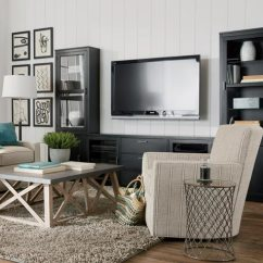 Living Room Media Furniture Ideas With Blue And Brown Shop Rooms Ethan Allen Family Friendly