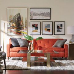 Orange Living Room Decorating Ideas Paint Colors 2018 Shop Rooms Ethan Allen Gray And
