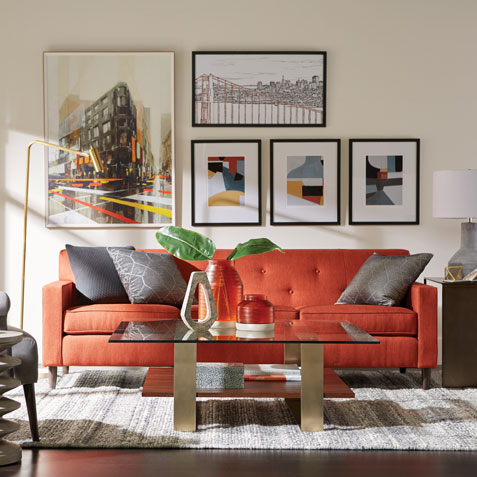 orange living room designs contemporary tables shop rooms ethan allen gray and