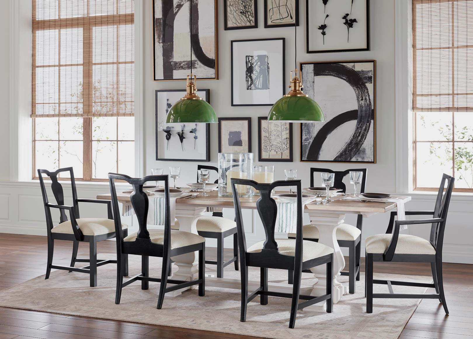 Opposites Attract Attention Dining Room  Ethan Allen