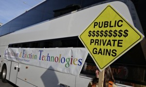 Googlefication protest in San Francisco