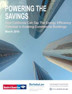 Powering the Savings MARCH 2016 Cover