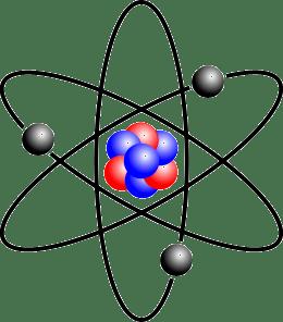 Stylized Bohr atom