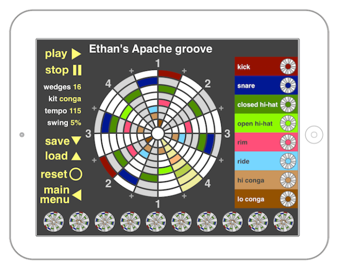 The Drum Loop - iOS screenshot