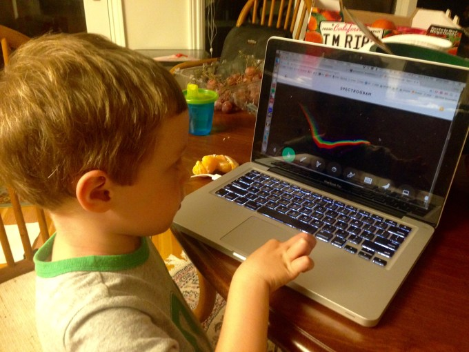 Milo gets some STEM education