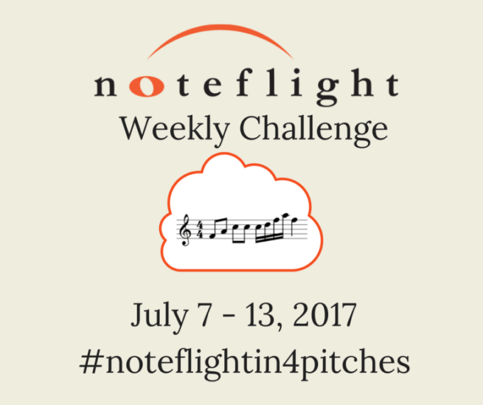 Noteflight weekly challenge