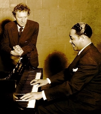 Percy Grainger and Duke Ellington, 1935