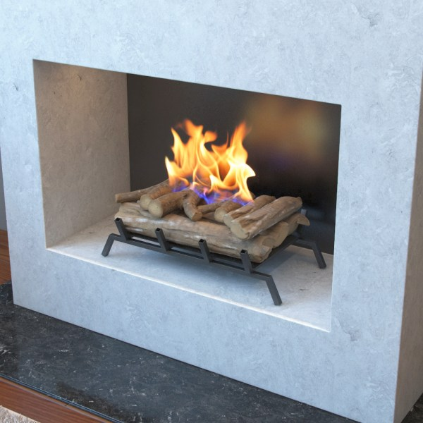 Ethanol Fireplace Inserts with Logs