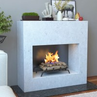 24 Inch Convert to Ethanol Fireplace Log Set with Burner ...
