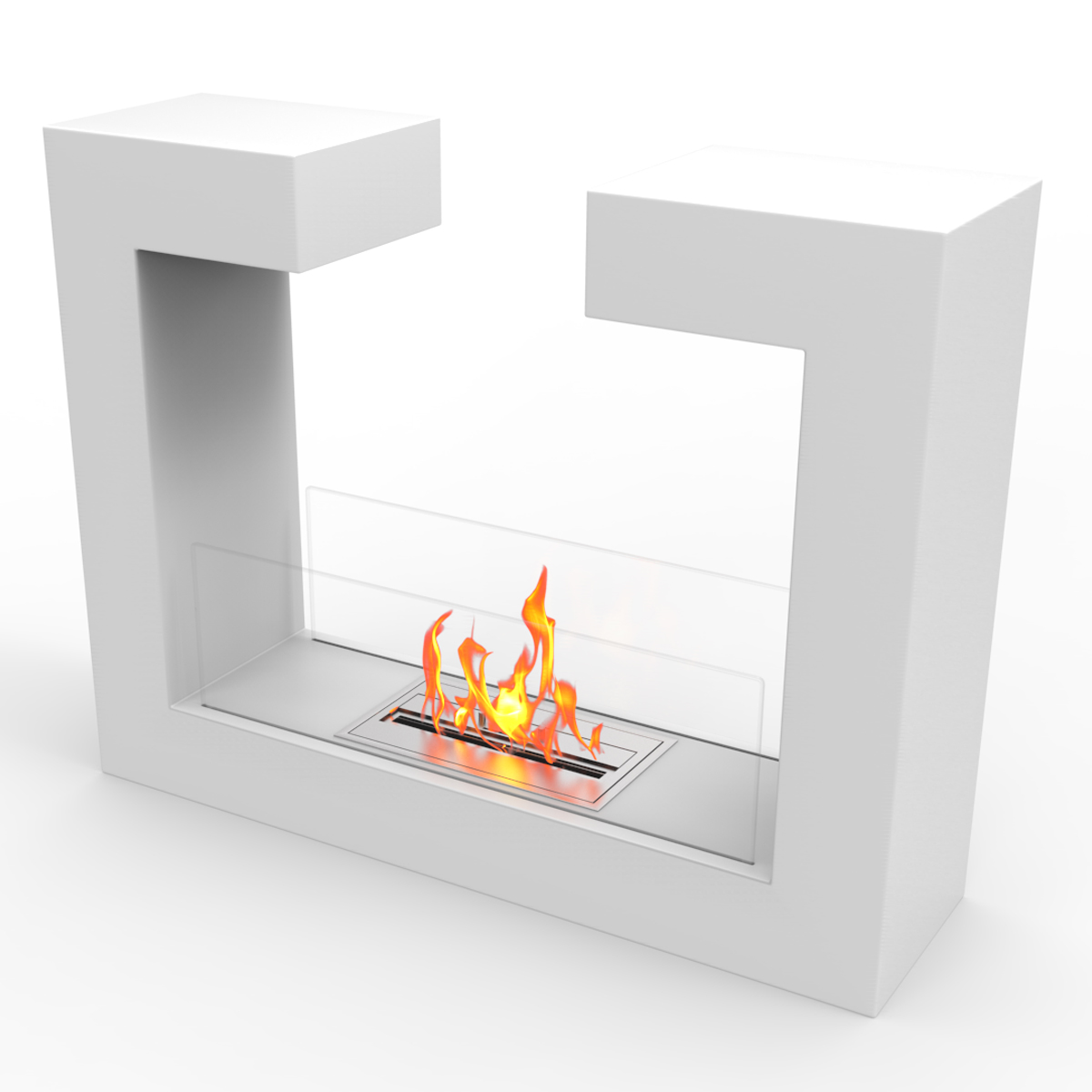 Regal Flame Vinci Ventless Free Standing Ethanol Fireplace