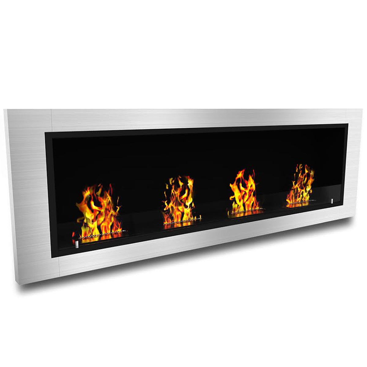 Regal Flame Luxe Ventless Bio Ethanol Wall Mounted Fireplace