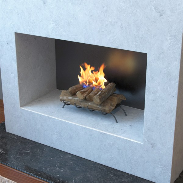 Ethanol Fireplace Log Inserts