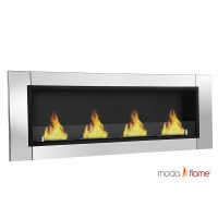 Moda Flame Devant Ventless Bio Ethanol Wall Mounted Fireplace