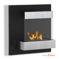 Moda Flame Madrid Wall Mounted Ethanol Fireplace