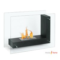 Moda Flame Arta Contemporary Indoor Outdoor L Shaped ...