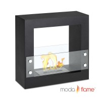 Moda Flame Porta Free Standing Ventless Ethanol Fireplace ...