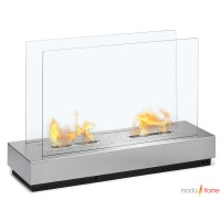 Moda Flame Braga Free Standing Floor Indoor Outdoor ...