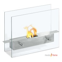 Moda Flame Ibiza Table Top Indoor Outdoor Ethanol Fireplace