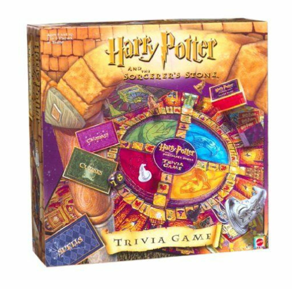 Harry Potter And The Sorcerer S Stone Trivia Board Game