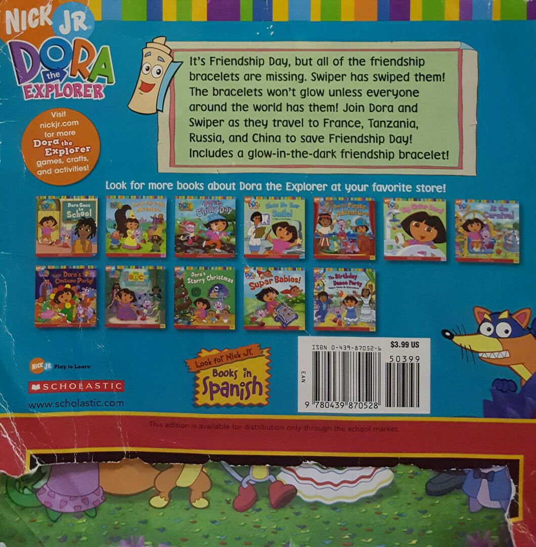 Dora S World Adventure Book