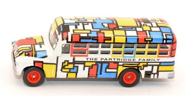 Partridge Family Toy Bus