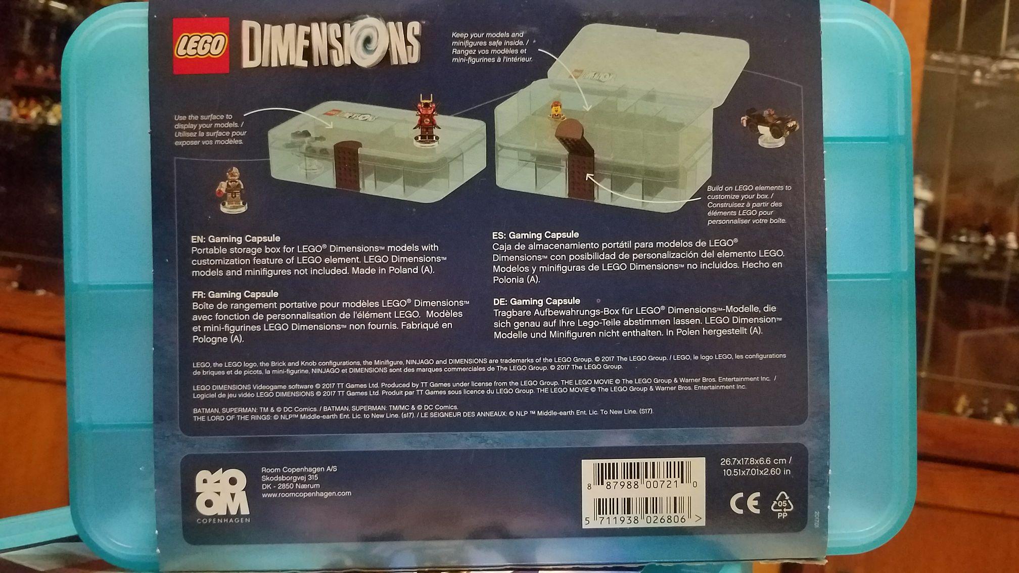 lego dimensions gaming capsule lego