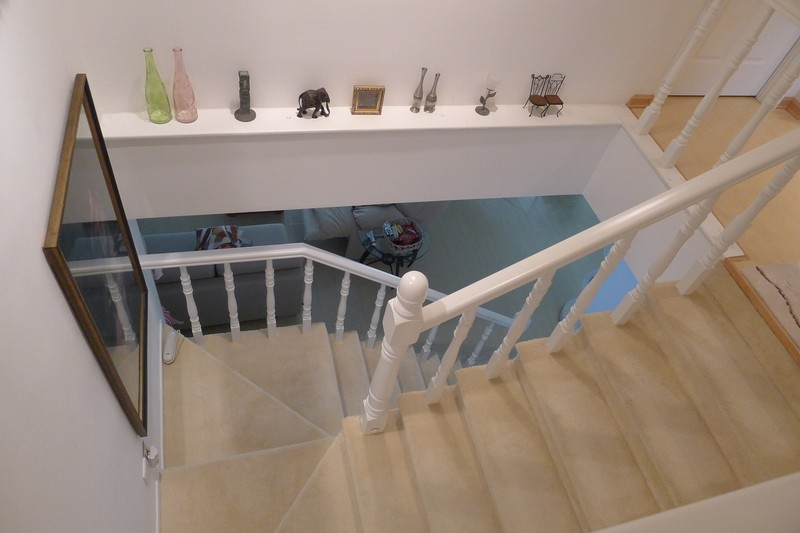 Cloud Pagoda  1st Floor Bathroom  Stairs