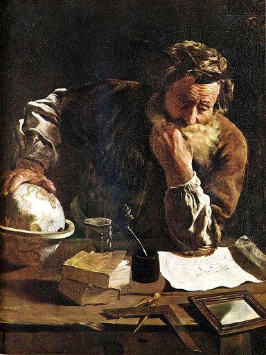 Archimède Domenico Fetti, 1620, Musée Alte Meister, Dresde