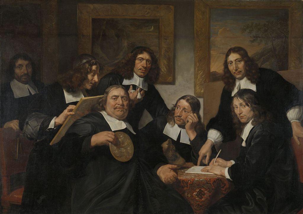 Jan de Bray - Les dirigeants de la Guilde de Saint-Luc (1675)