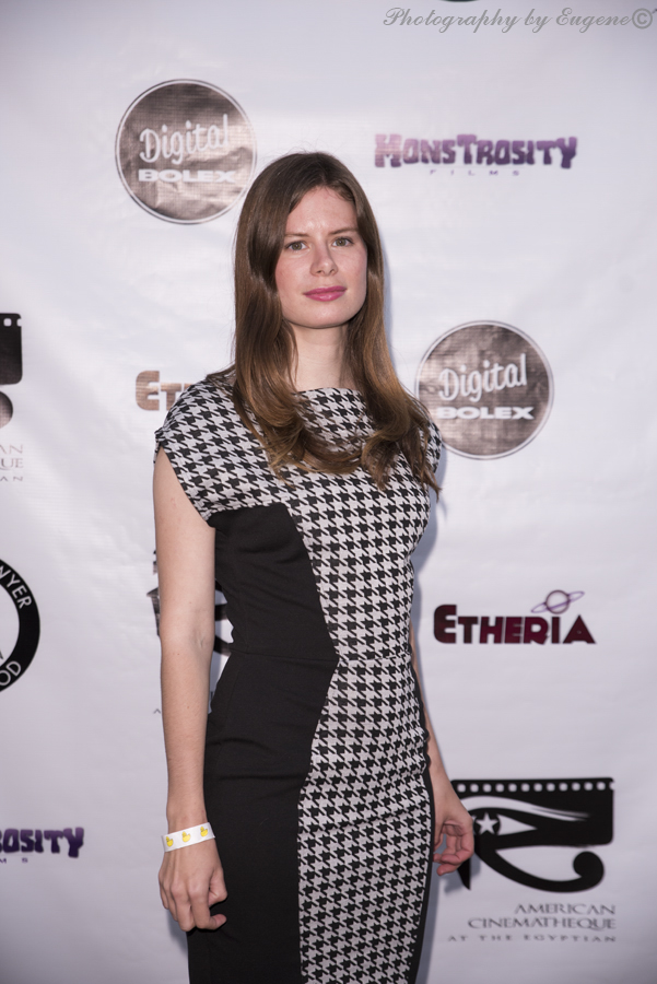 Elle Schneider at Etheria Film Night 2015