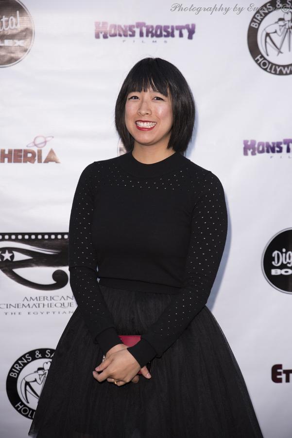 Gabrielle Lim at Etheria Film Night 2015