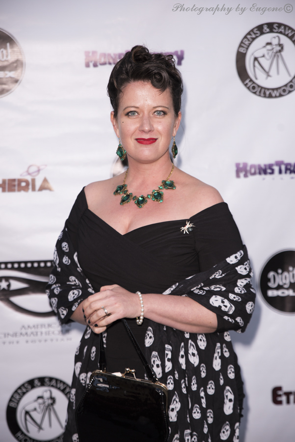 Michelle Kantor at Etheria Film Night 2015