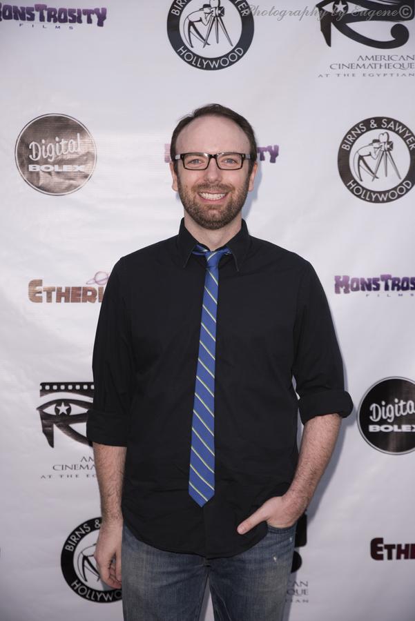 Morgan Peter Brown at Etheria Film Night 2015