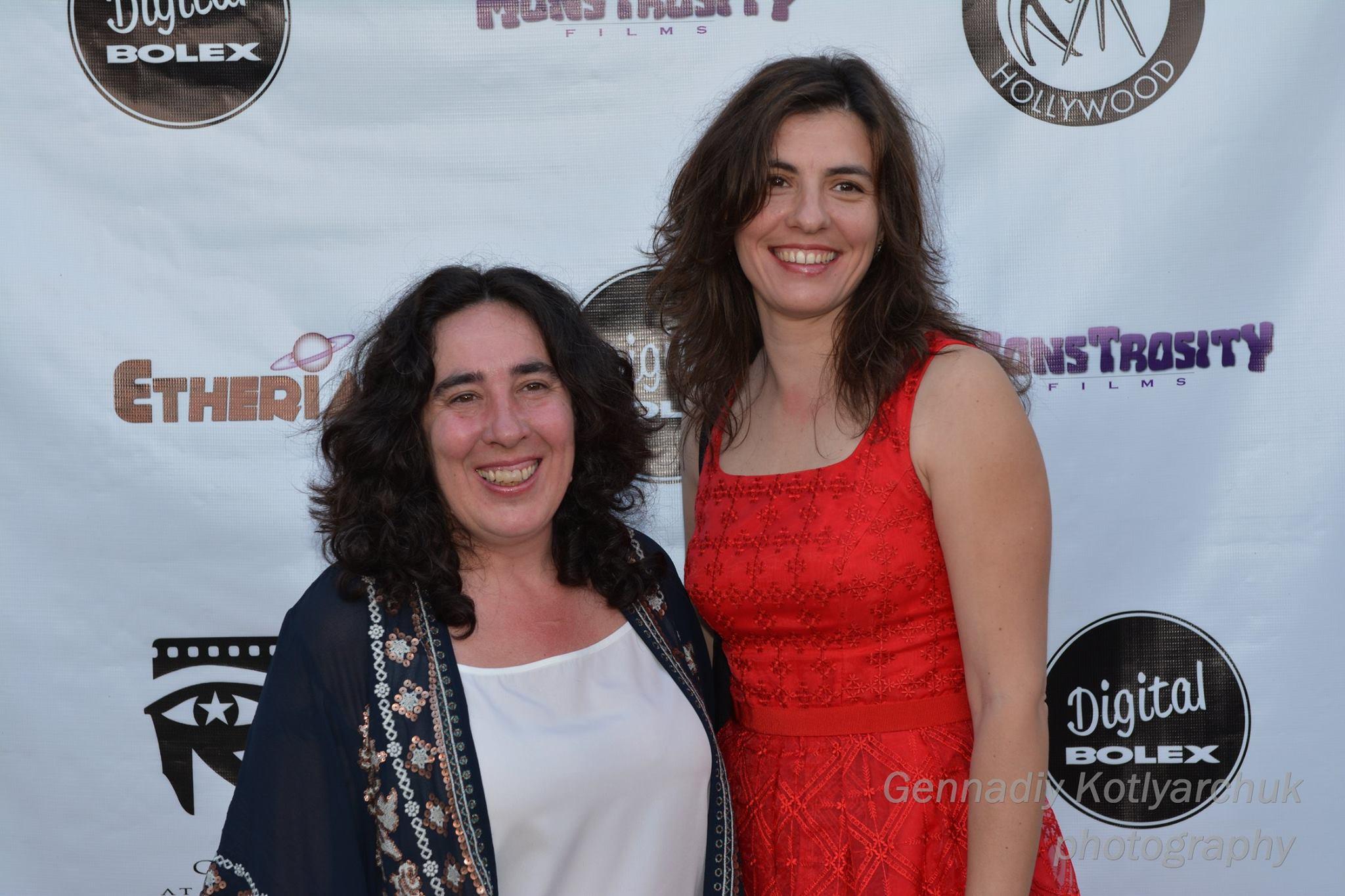 Arantxa Echevarria and Pilar Sánchez Díaz at Etheria Film Night 2015
