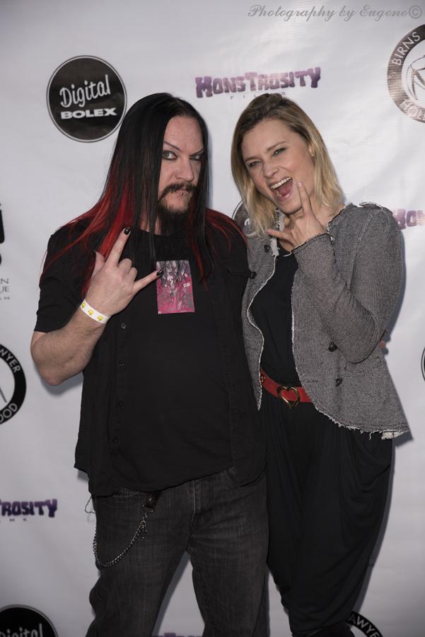 Kristina Klebe and Dan Walker at Etheria Film Night 2015