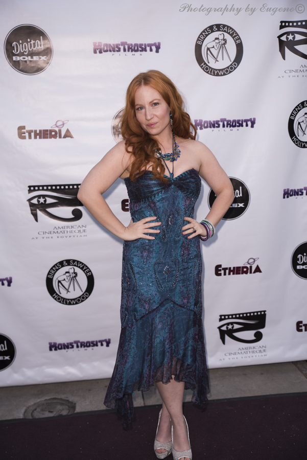 Tara Cardinal at Etheria Film Night 2015