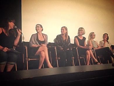 women underground women underground August 21, 2015 - leah Cevoli, Courtney Kimball, Katherine Marie Sainte, Rena Riffel, and Kristine Klebe (visible)
