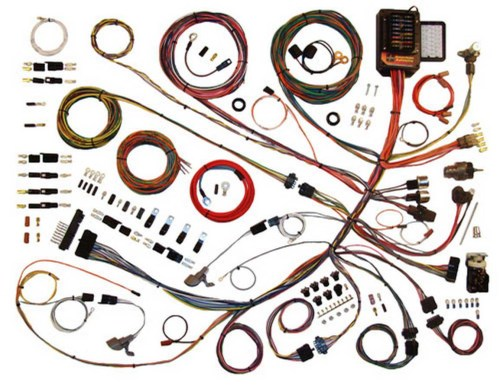 small resolution of 61 66 ford p u wiring harness