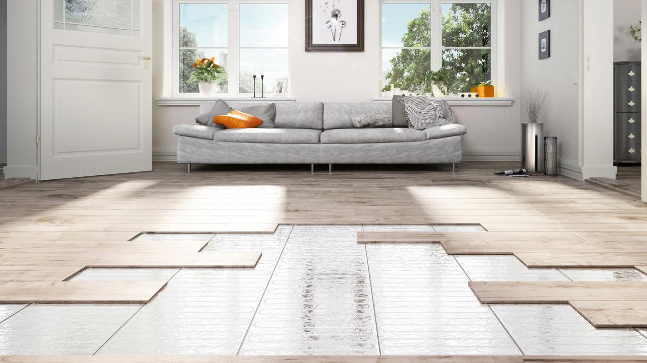 Etherma Laminotherm (Set) - Fußbodenheizung Unter Parkett- Und