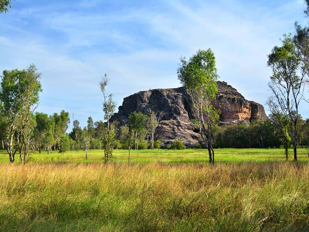 Stone outlier in Kakadu National Park
