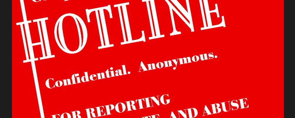 hotline posters ethical advocate